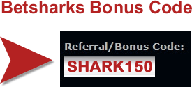 betsharks referral code
